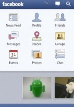Facebook for Android - клиент соц.сети