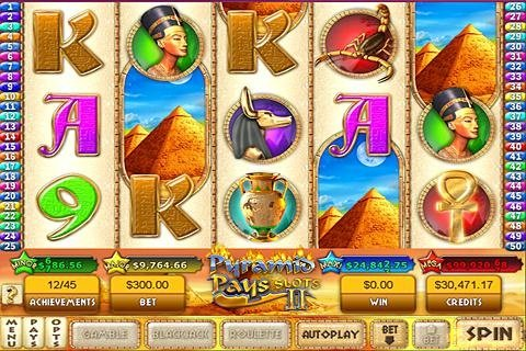 Pyramid Pays 2 Slots - выиграй сокровища фараона