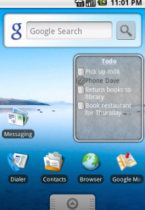 ToDo List Widget