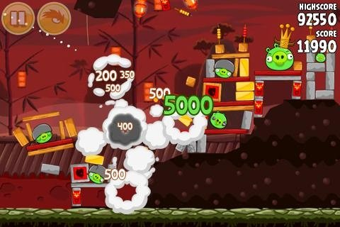 Angry Birds Seasons: Year of the Dragon - новый эпизод