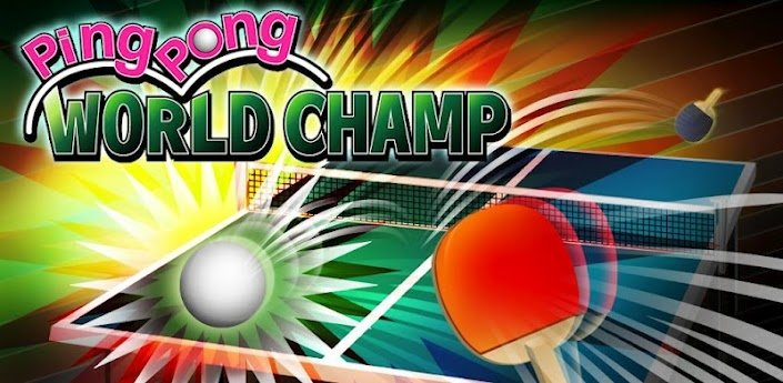 Ping Pong WORLD CHAMP - хороший пин-понг