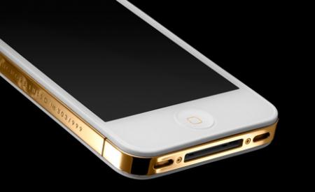 Золотые iPhone 4s от итальянских ювелиров!